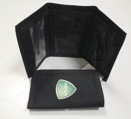Portefeuille noir USBC