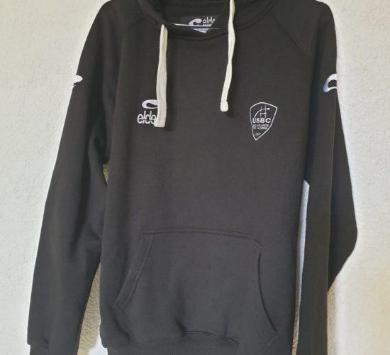 Sweatshirt noir USBC