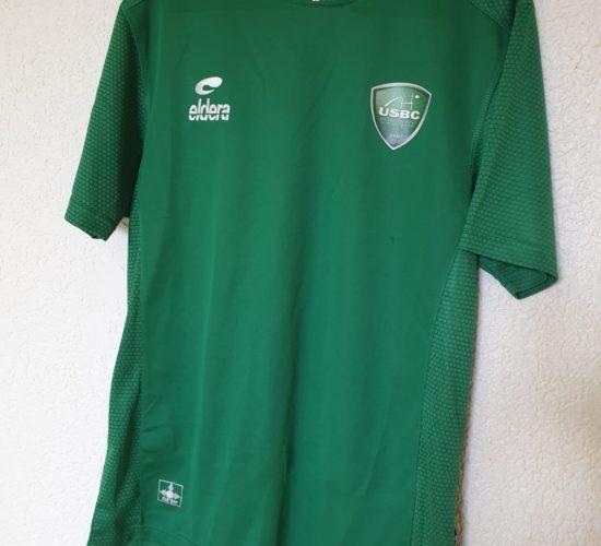 t-shirt usbc vert